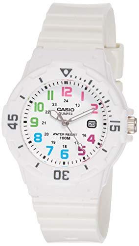 Casio, orologio analogico da polso da donna, al quarzo e in resina, LRW-200H-7B