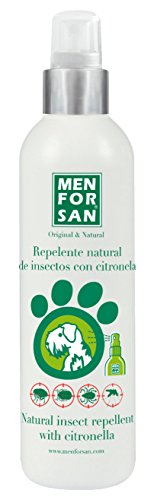 MENFORSAN Repelente Natural de Insectos con citronela Perros - 250 ml ⭐