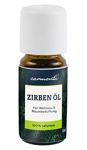 BIO Zirbenöl Ätherisches Öl aus Österreich - 100{a5b32e1a781df7ec3743e6ed375f730cae6538e4c45dfa9e4f4fdd7d1d913f82} Naturrein - Zirbelkieferöl (Pinus Cembra) mit Zirbe/Zirben Duft für Diffuser, Aromatherapie, Sauna oder Raumduft