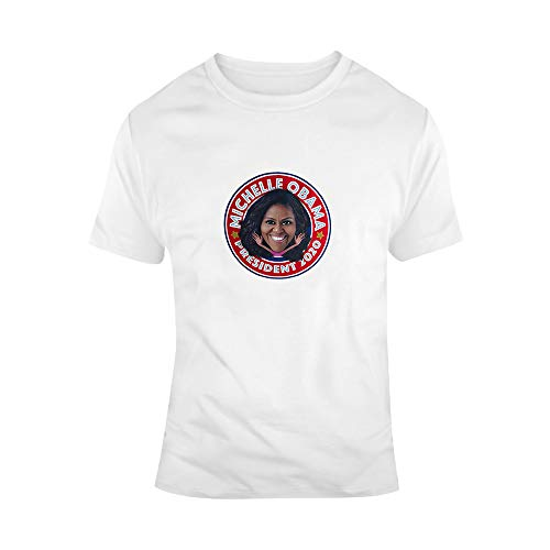 N/ A Michele Obama President 2020 T-Shirt | Obamas Back In The White House Geschenk M einfarbig