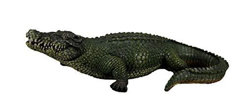 DWK 21 Inch Alligator Statue Gator Garden Outdoor Figure