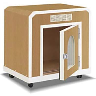 KAWAI 防音 犬小屋 鳴き声対策 ペット用防音室 ワンだぁルーム ボックスフラット屋根タイプ 室内 カワイ
