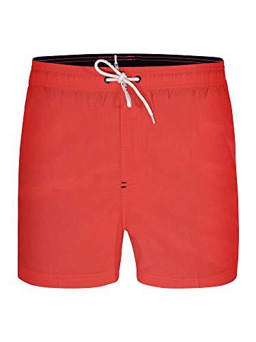 Bugatti®, costume da bagno da uomo, a pantaloncino, colore: verde, blu marine, rosso, nero o turchese...