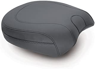 MUSTANG SEATS Wide Vintage Recesssed Passenger Seat for Harley Davidson? Softail FXS Blackline 2011-13 & FLS Slim 2012+
