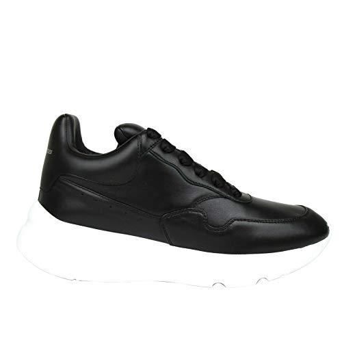 Alexander McQueen Men's Black Leather Platform Sneakers 505033 1000 (39 EU / 6 US)