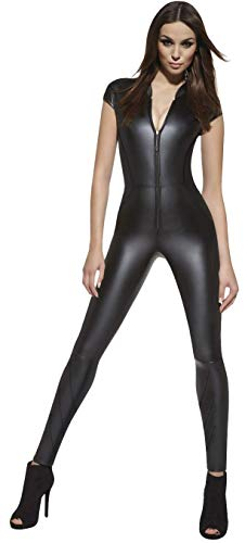 Firstclass Trendstore luxuriöser Catsuit in Leder-Optik Overall (Enya XXL)