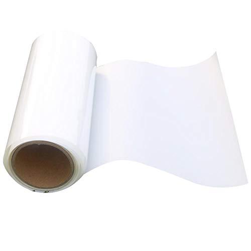aifengxiandonglingbaihuo Opake weiße Fensterfolie Selbstklebende Schattierung PET UV-Schutz Datenschutz Datenschutz Multi-Size-Haushaltswärmesteuerungsfolie, 50 cm x 400 cm