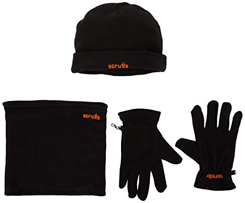 Scruffs Mannen Winter Essentials Werkkleding set, Zwart (Black 001), (Manufacturer Maat: Uk Universal Fit)