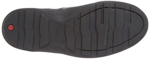 Kickers Boy's Reasan Strap Loafers - Black (Black), 2.5 UK (35 EU)