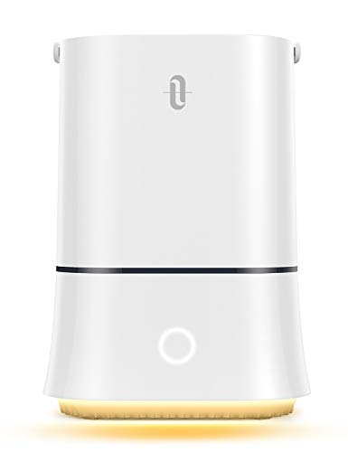 TaoTronics Cool Mist Humidifier, 4L Quiet Ultrasonic Humidifier for Bedroom Home Large Room Baby Room, Sleep Mode Waterless Auto Shut-Off Smart Air Humidifiers with 12-50 Hours of Run Time