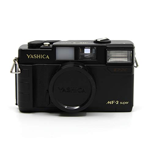 YASHICA MF-2 Super 35mm Film Camera with 38mm f/3.8 Lens by Kokoti (Black)