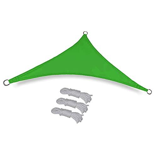 Toldo triangular de vela de parasol de 3 6x3 6x3 6 m toldo triangular impermeable toldo triangular toldo triangular toldo de vela toldo para patio trasero