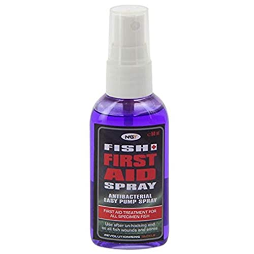 NGT Fish First Aid Spray Antibacterial For All Specimen Fish