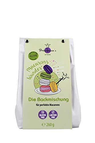 Principessa's |Backmischung | Macaronswunder | glücksgrün |Gelingssicher | Glutenfrei | 260 g