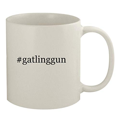 #gatlinggun - 11oz Hashtag White Coffee Mug