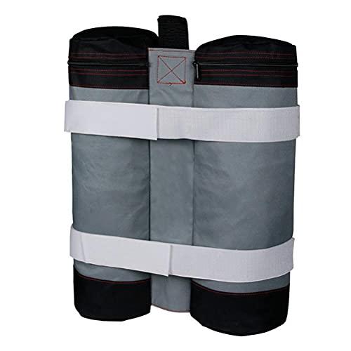 1 bolsa de arena para exteriores, con soporte para patas y patas para toldos, tienda de campaña, paraguas, patio