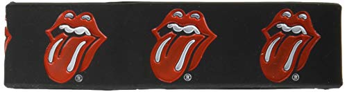 Braccialetto The Tongues Official Rolling Stones (Nero) - Taglia Unica