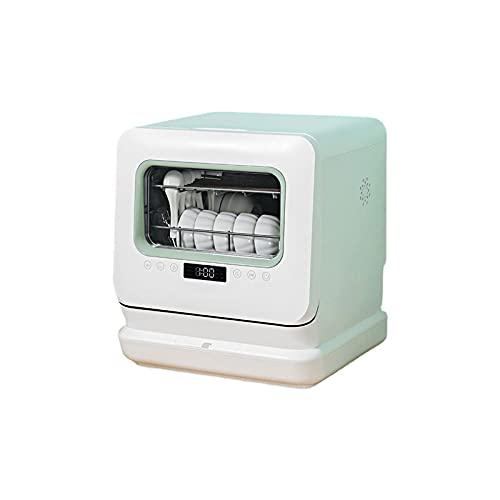 KSDCDF Encimera, lavaplatos, lavavajillas compactos portátiles, con tanque de agua incorporado y entrada de manguera de agua, mini lavavajillas con programas, rápido, for pequeños apartamentos, dormit