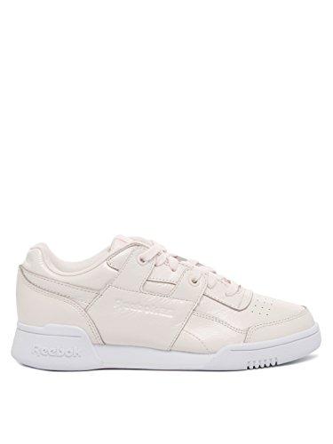 Reebok W/O LO Plus Iridescent - Zapatillas Deportivas, Mujer, Rosa - (Pale Pink/White)