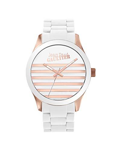 Reloj Jean-Paul Gaultier Silicona Unisex H/F Blanco