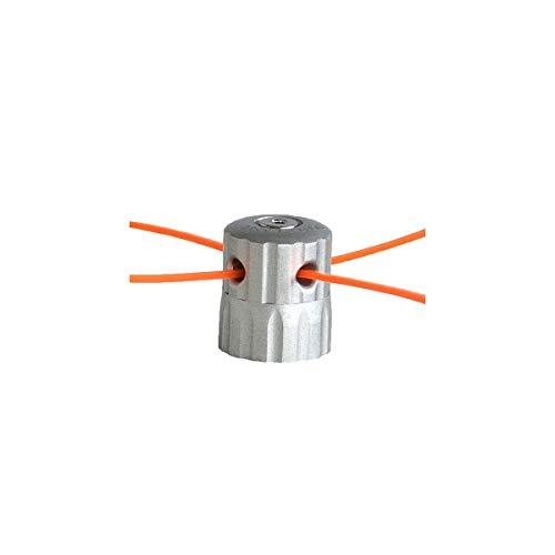 Fuxtec Original ALU Nylon Cut Doppelfadenkopf Fadenspule Nylonfaden Benzin Motorsense Rasentrimmer