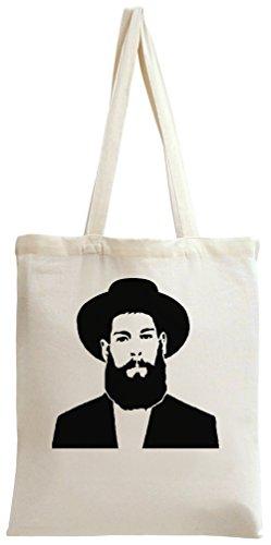 Matisyahu Black And White Tote Bag