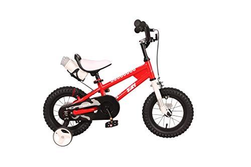 JOEY Hopper 12 inch Kid's Bicycle, Red, Children's Bike