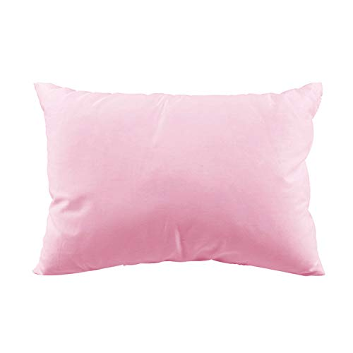 Toddler Pillow with Pillowcase - Baby Pillows for Sleeping, 13x18 Organic Cotton Crib Pillows for Toddlers, Kids, Childrens, Travel, Toddler Cot, Bed Set, Daycare, Baby Cribs, Car Rides