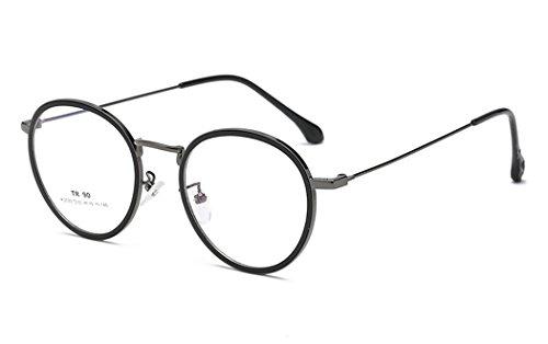 DAUCO - Gafas de bloqueo de luz azul con montura TR90 Premium, antirreflejos, antiparpadeo, filtro de luz azul, gafas de protección para ordenador/teléfono/tabletas