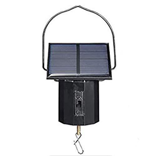 SADA72 Solarbetriebener Windspielmotor, flexibler Windspiel, einfache Installation, solarbetrieben, Außendekoration, großer Motor, Solar Power Supply, Free Size