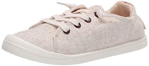 Roxy Women's Bayshore Slip On Shoe Sneaker, Tan/Gold 20, 8 M US