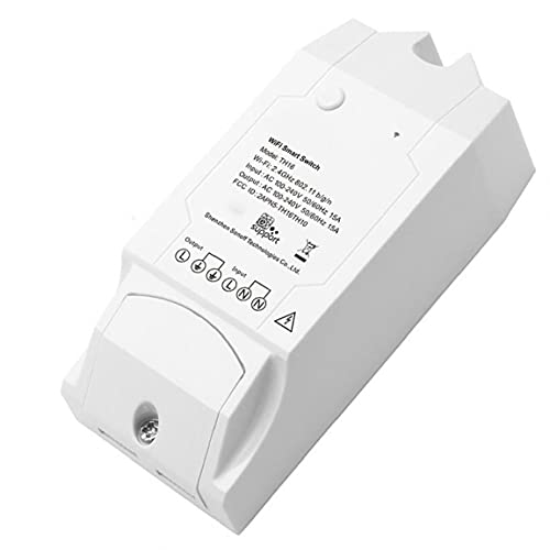 Interruptor de humedad de temperatura TH16 Sensor WiFi Sensor Sensor Control remoto para DIY Home