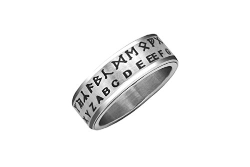 Retroworks Hobbit Translator Ring Silver Size 08