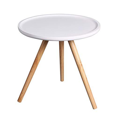 Lightyears Table Basse, Décoration De Mobilier Moderne Table D'appoint Ronde Salon Balcon 48 * 48 * 47CM