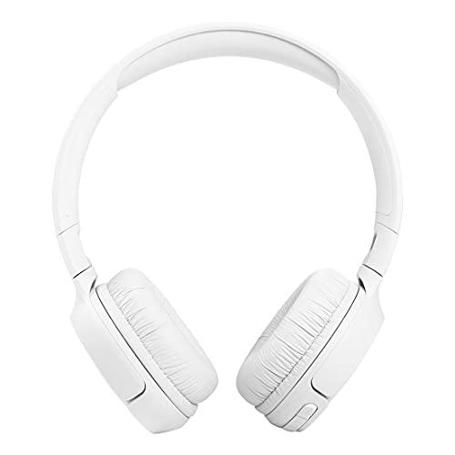 Fone de ouvido on ear JBLT510BTWHT