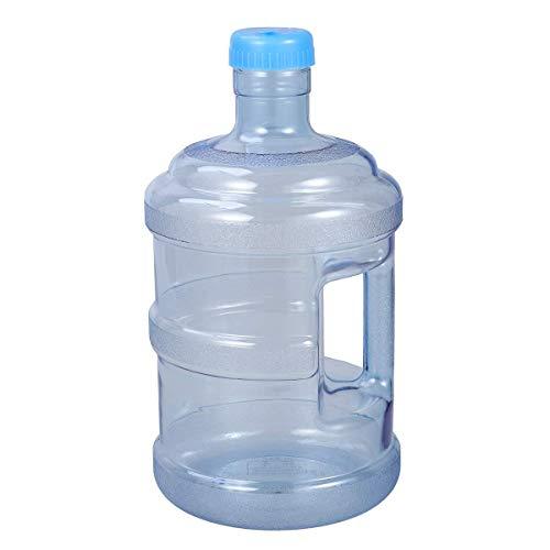 qwertyuiop Botella de Agua de Viaje de Gran Capacidad 5 litros de Agua Pura Botella de Agua Mineral Cubo portátil con asa para Exteriores
