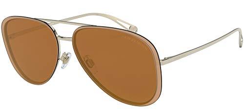 Armani GIORGIO 0AR6084 Gafas de sol, Pale Gold, 63 para Mujer