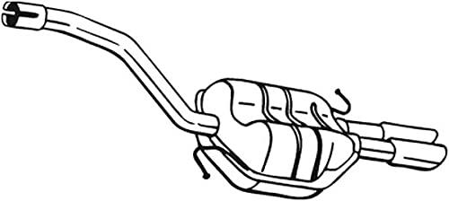 Bosal 233-165 Silencieux arrière