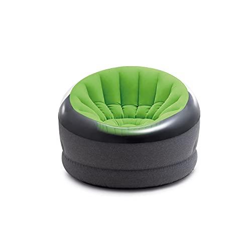Intex - Silla Hinchable para niños, 44 x 43 x 27 Pulgadas, Color Verde