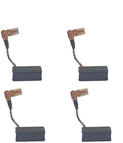4 Pcs Carbon Motor Brush Compatible with DeWalt DWE4120 / DWE4011,Dewalt N097696 Grinder Motor Replacement Part