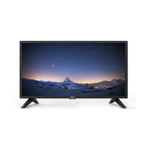 """SEIZO 24"""" Inch LED 720p HD Ready TV Combi with Built-in DVD Player"""