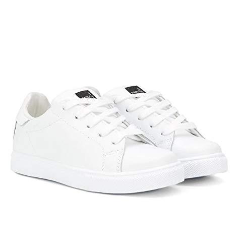 PAOLO PECORA Sneakers Bimbo PP2333 Colore Bianco Ecopelle PE20 40