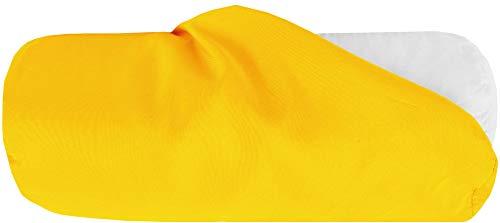 Bestlivings Bezug für Nackenrolle 15x40cm (BxL) Bezug in Gelb, in vielen Farben