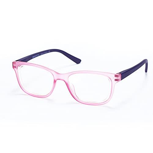 ZENOTTIC Gafas Infantiles de Bloqueo de Luz Azul para Ordenadores Gafas de Juego de Lentes Antirreflejos y Ligeros Protección de Ojos para Niños y Niñas (ROSADO)
