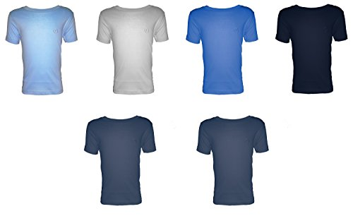 Navigare 6 t-Shirt Mezza Manica Girocollo Jersey Cotone Bimbo/Ragazzo Art. 13020 (6 (7-8 Anni), colorato)