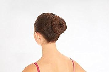 Black dance bun hair nets 2 packs 6 hair nets
