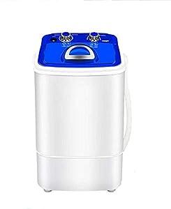 FGDFGDG Chaussures de Lavage compactes électriques Mini Portables Capacité de la Machine de Brosse 7.2kg Chaussures Machine à Laver Lave-Linge Sèche-Linge avec Panier de vidange,Bleu