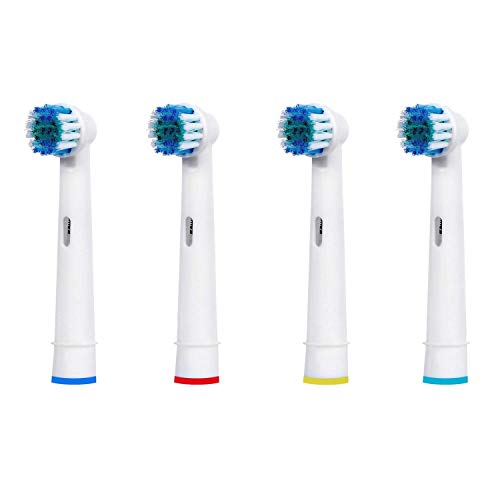 IM77R 4 Recambios Cepillo Electrico Compatible Con Braun Oral B, Vitaly Precision Clean, White Clean, Sensitive Clean,Proffesional Care, EB-17A / SB-17A / EB17-P (1 Kits x 4 Cepillos)