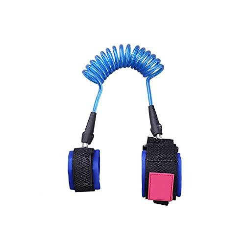 HAI RONG Resistente al Desgaste Perdido-Anti Pulsera for niños, Blue - 1,5 M / 2,5 M - Función de Alambre Continuo Shear Transpirable Sweat-Absorbente Durable (Size : 1.5m)