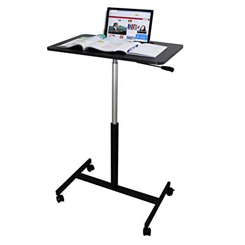Z IMEI Sitzen-Stand Laptoptisch Mobil Einstellbar Laptop Ständer Überbettte Pc-Tabelle Für Working Reading Rädern Computertisch Sofa Nachttisch-B 110×52cm